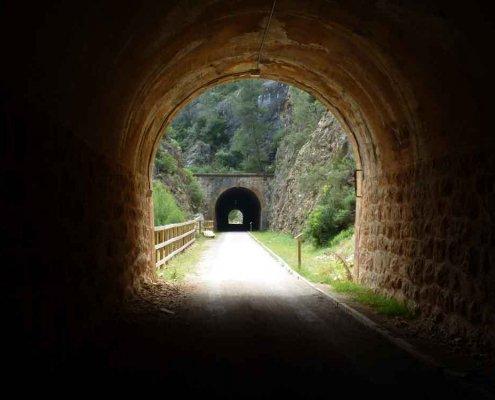 túnel via verde